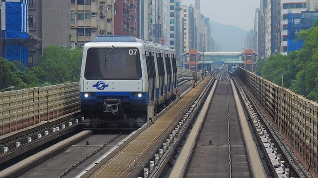 타이중 첫 지하철 올해 연말 개통 예정