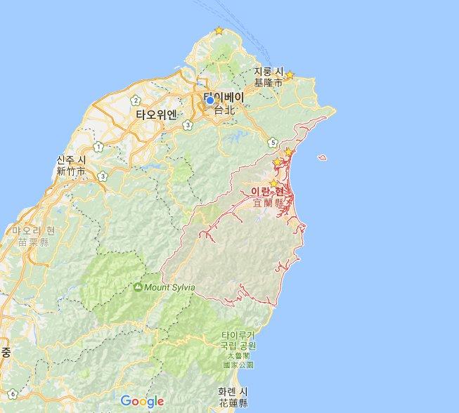 대만 회사원이 추천하는 수상레저의 도시 이란현(宜蘭縣)!!